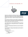 Adaptador de Ethernet a Wireless DWL