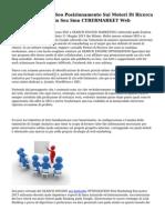 Corso Formazione Seo Posizionamento Sui Motori Di Ricerca Web Marketing Sem Sea Smo CYBERMARKET Web