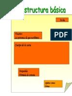 carta- Estructura Básica