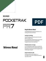 Yamaha Recorder Pocketrak PR7