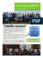Newsletter do Seminário EBNESR