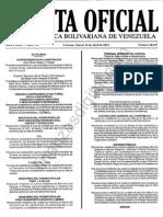 Gaceta 40647 Normas Libre Ejercicio Profesionales de La Salud