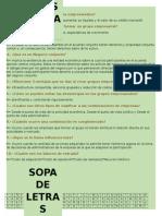 Equipo 2 . Grupos Empresariales Cuestionario y Sopa de Letra