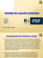 Informe Del Analista Financiero