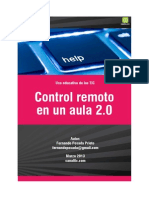 Control Remo to Aula 20