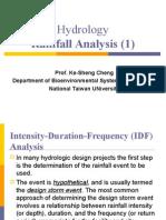 Rainfall Analysis 1
