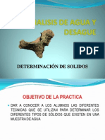 07 - Determinacion de Solidos