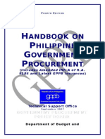 Handbook - Phil. Govt. Procurement