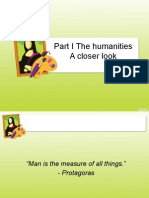 LESSON 1- The Humanities