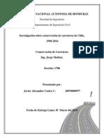 Carreteras de Chile 1990-2014