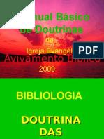 Manual Básico de Doutrinasapresentação