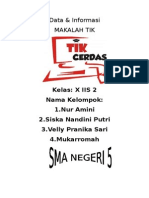 Data Dan Informasi Kelompok Velly