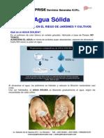 Agua Solida