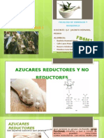 FARMACOGNOSIA I Azucares Reductores, No Reductores y Totales