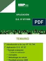 Aplicacion Ds 67