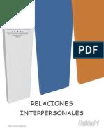 Unidad 1 Fundamentos de Relaciones Interpesonales