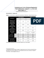 Informe Fotomorfogenesis.