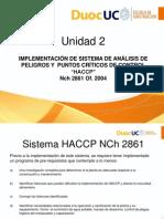 Principios y Pasos Para La Implementacion de HACCP