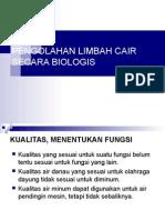 Pengolahan limbah cair biologis.ppt