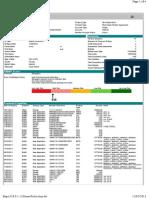 Consumer Credit Report Sample