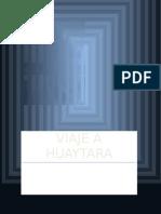 Viaje a Huaytara