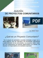 Formulacion de Proyectos Comunitarios.