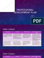 professional development plan klatt
