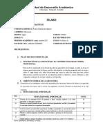 3.Syllabus 1A UTC