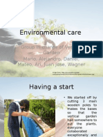 Project Reflection Environmental group