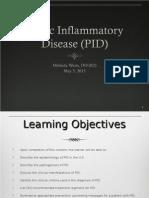 PID Pelvic Inflammatory Disease Lecture Melinda Weiss