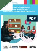 Orientaciones de Educación Inicial