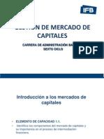 Gestión de Mercado de Capitales