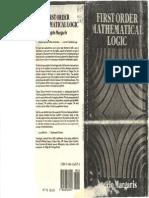 1990 - Margaris - First Order Mathematical Logic