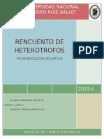 RECUENTO DE HETEROTROFOS-Liz