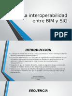 La Interoperabilidad Entre BIM y SIG