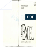 1992 - Excel Manual de Usuario Tomo II