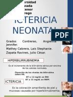 Ictericia Neonatal Actual