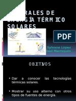 Centrales de Energía Térmico Solares