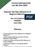 Impacto Del Gas Natural en El Negocio Electrico-Luis Espinoz