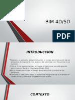 BIM 4D 5D