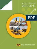 GSPL Annual Report 2010-11