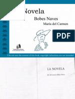 Bobes Naves Maria Del Carmen La Novela