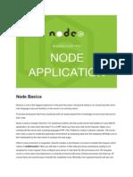 First Node App