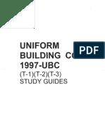 UBC 1997 Study Guide