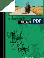 Filosofía Para Profanos 1 - El Deseo, Según Gilles Deleuze - Copia