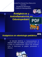 Analgesicos en Odontopediatria