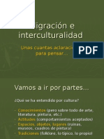 Migración e Interculturalidad