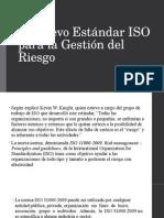 El Nuevo Estándar ISO Para La Gestión Del
