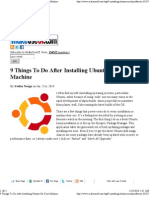 9 Things to Do After Installing Ubuntu on Your Machine