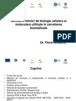 Curs 1 Tehnici Biologie Moleculara